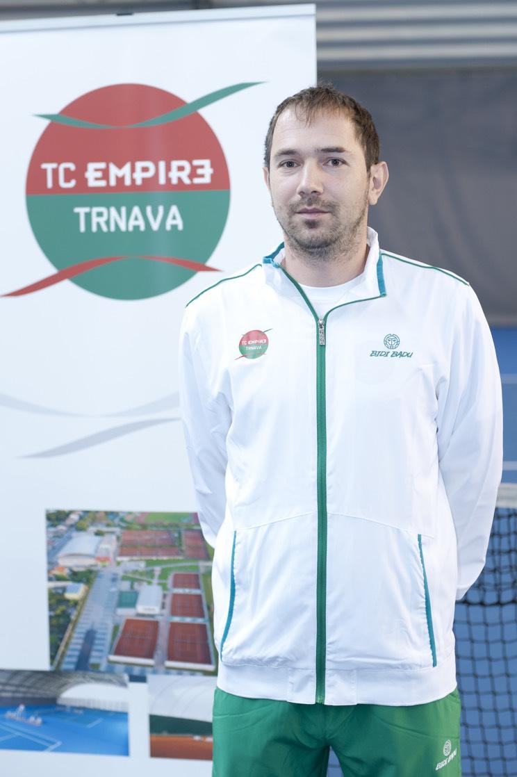 Tenisový tréner Peter Vlk